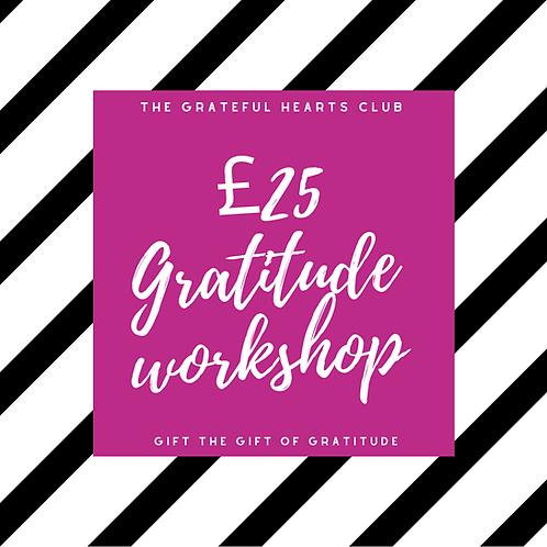 Gratitude Workshop Voucher