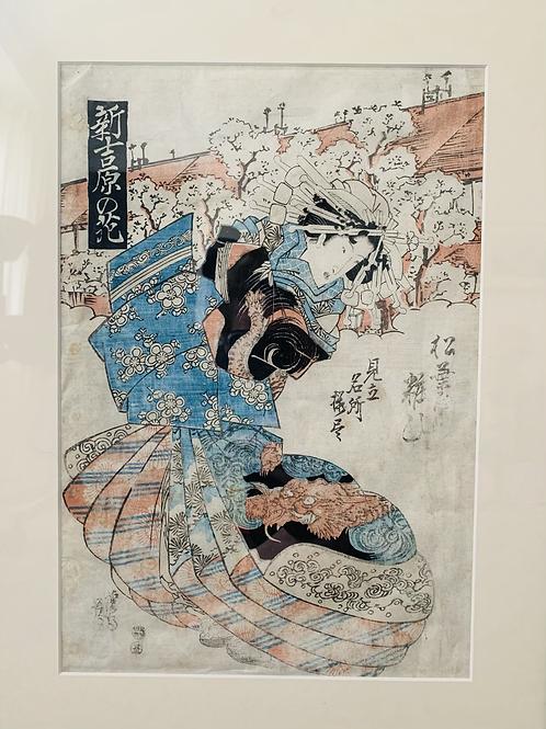 .......| Japanese Woodblock print