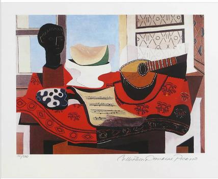 Mandolin and music Picasso Most Precious Piece.com