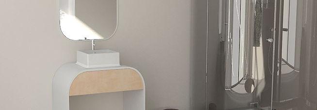 Portfolio of Tirdad Kiamanesh, innovative Product and Industrial Designer. Bath Furniture