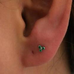 Lobe piercing