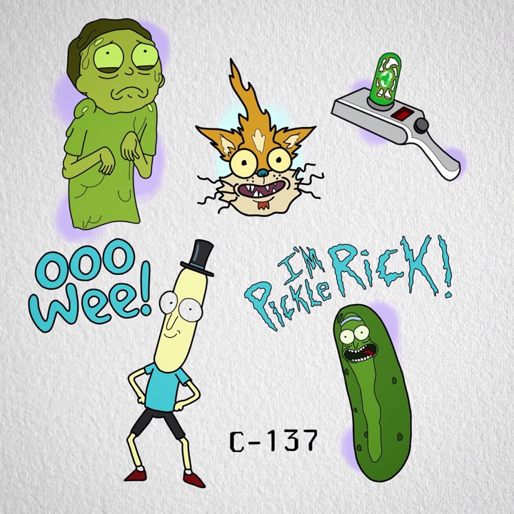 Rick and Morty Flash available $100/each