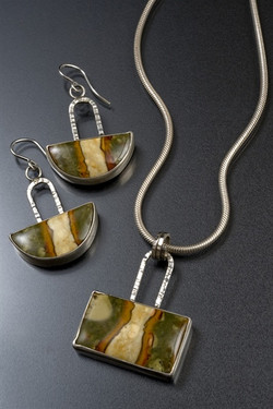 Morrisonite Jasper Set