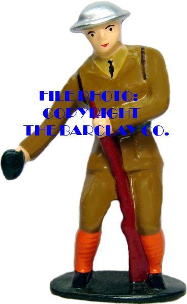 #6069 - Soldier Throwing Grenade