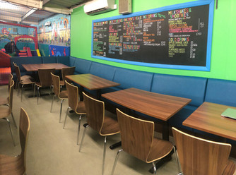 New cafe seating