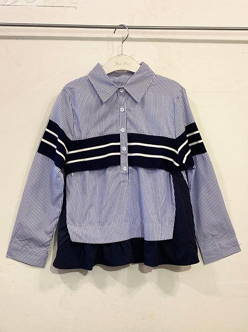Sleek- Stripes Blouse