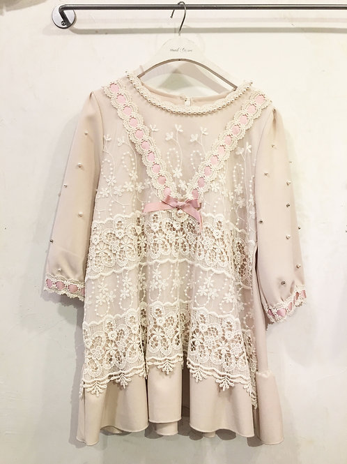 Romantic Cream Blouse
