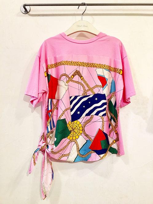 Pink Sailor Top