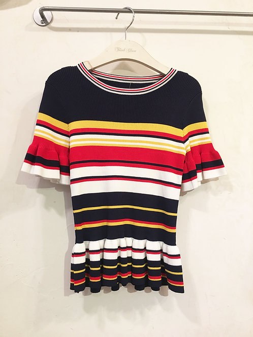 Striped Knit Tee