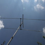 Alvin-Williams-WS2D 160 meter dipole on top