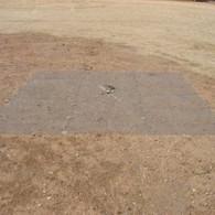 Ground-mounting-antenna screen