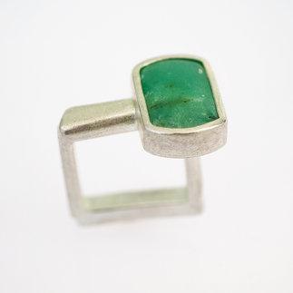 Ring Silber mit Chrysopras von gudRun flügge - zu erwerben - PA079546.jpg