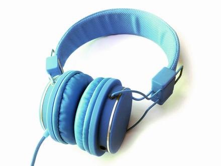 Blue Headset