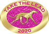 Take the lead.Pink-Glitter-Pin-2020-sm.p