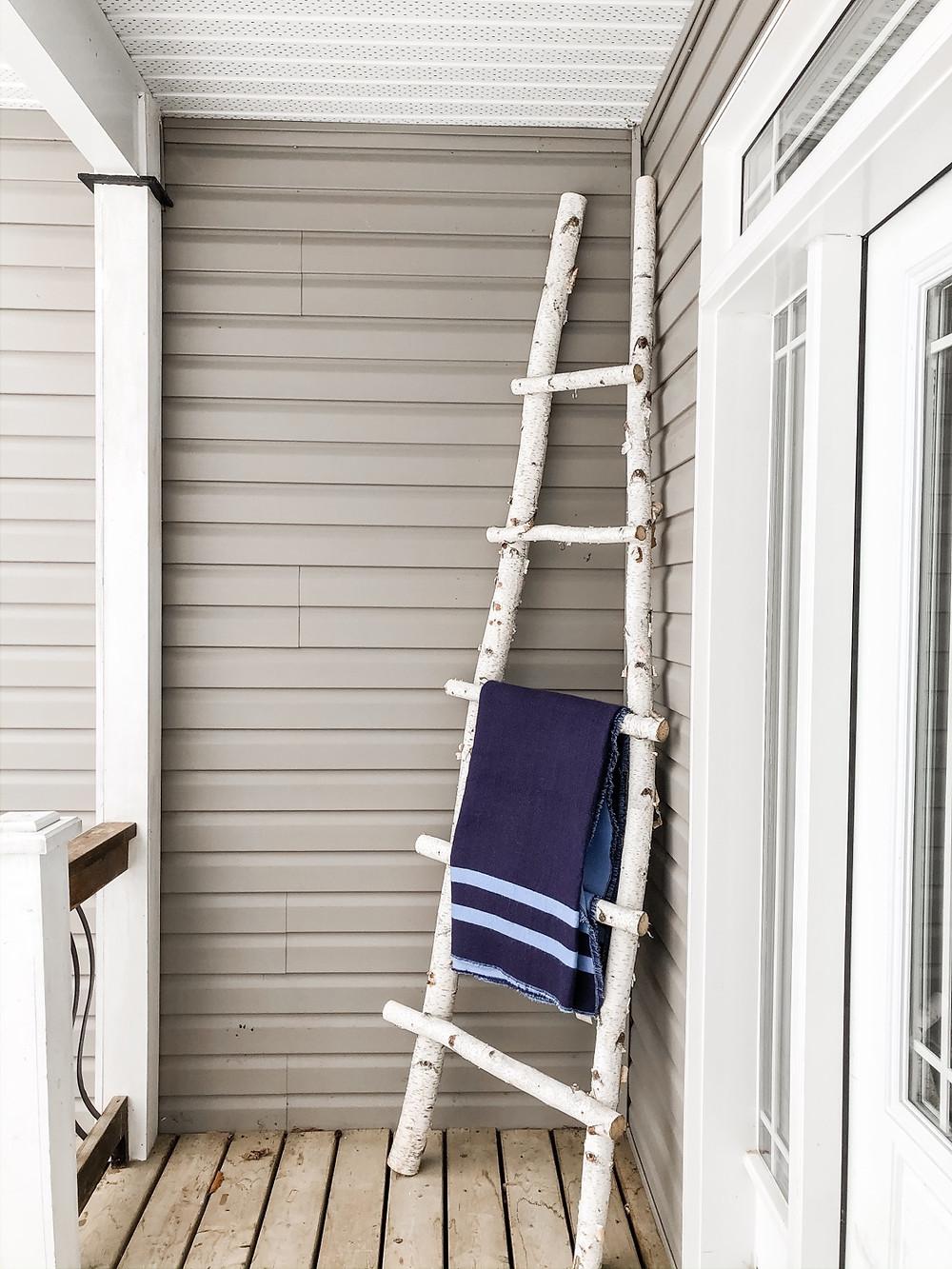 birchwood porch ladder