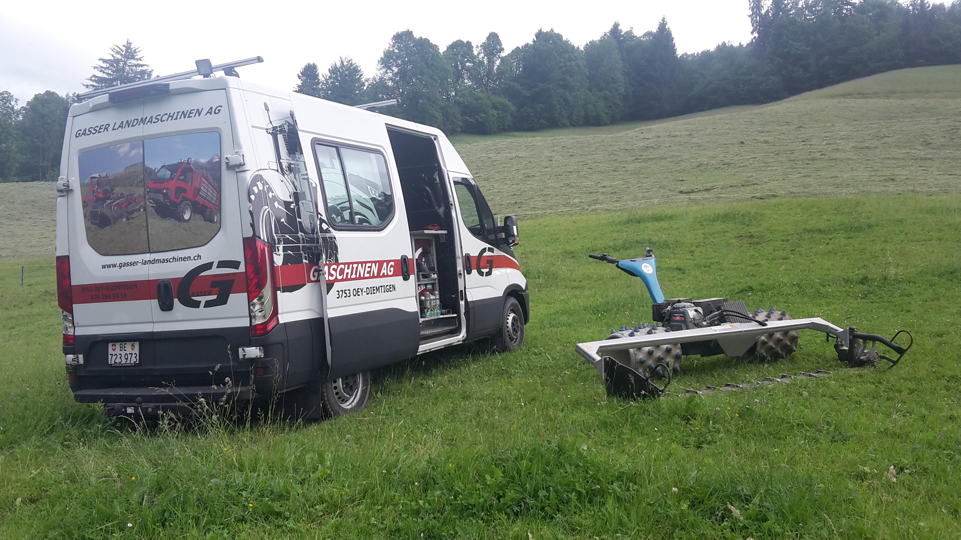 Mobiler Service vor Ort
