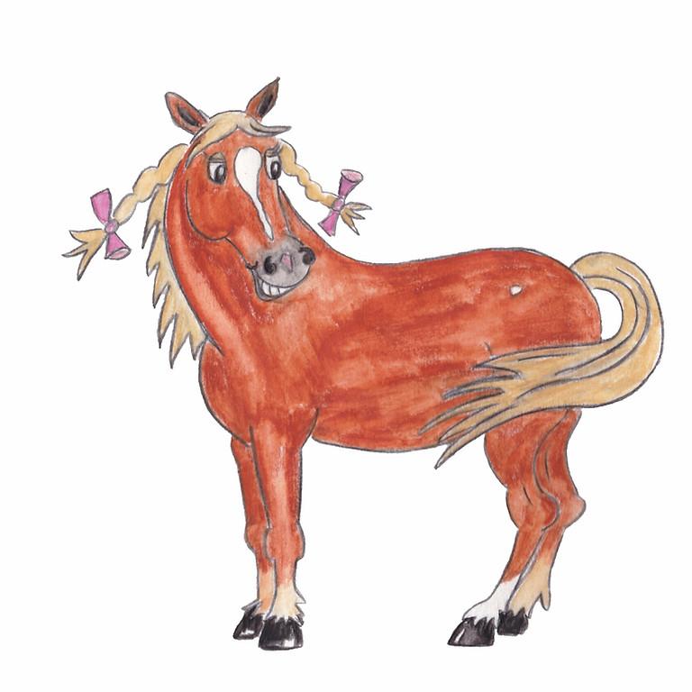La naturaleza de tu caballo en un dibujo