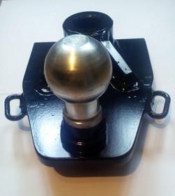 Adapterplatte Zugmaul-Kugel 50