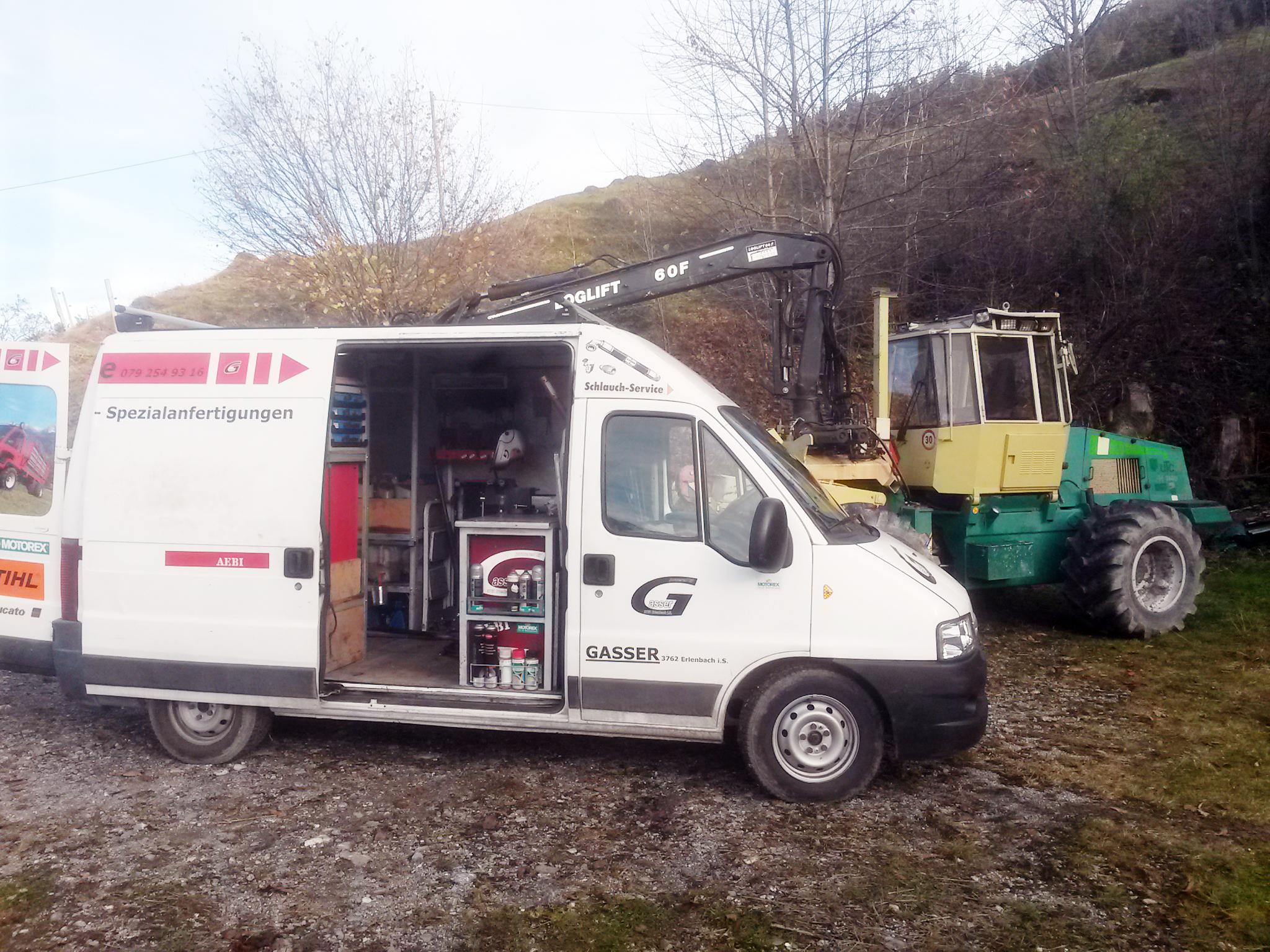 Reparaturservice vor Ort