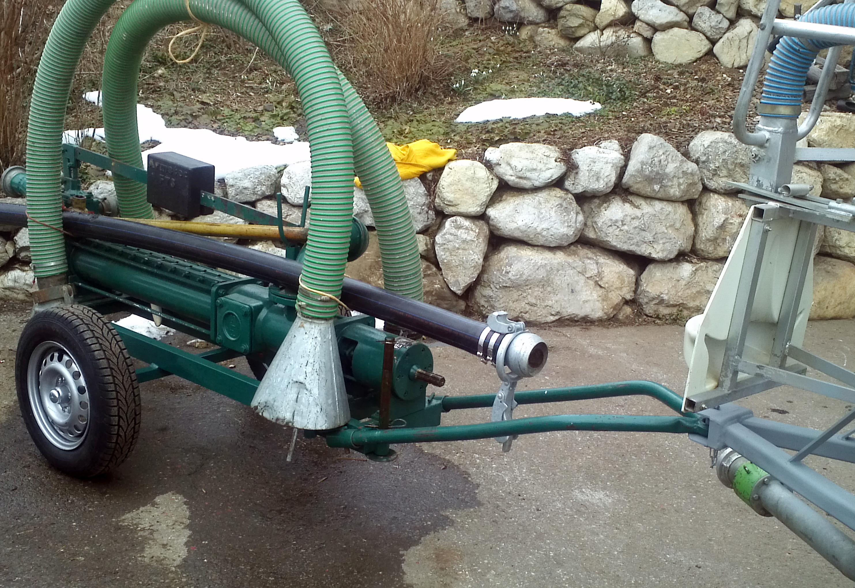 Anhänger-Kombination Gülletechnik