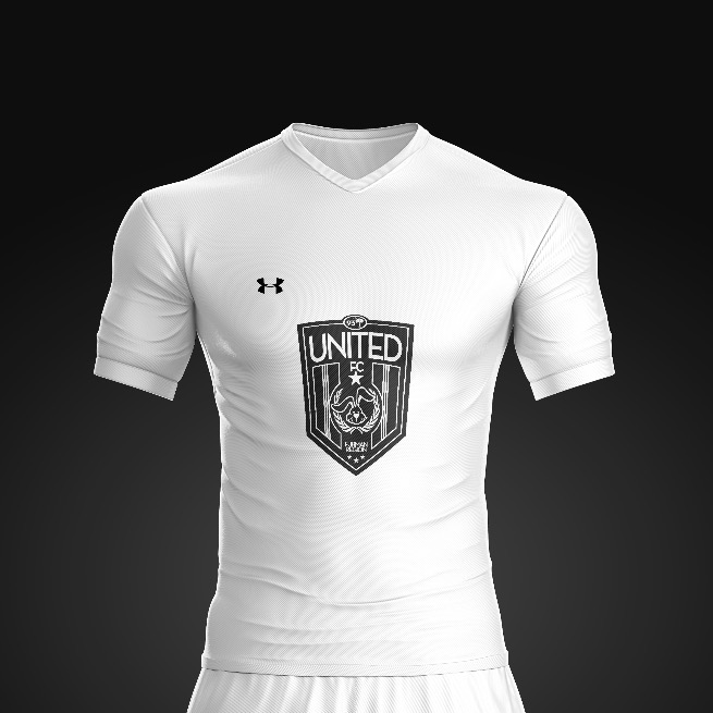 2017 United FC White Rec Kit
