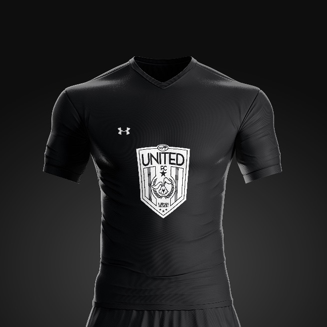 2017 United FC Black Rec Kit