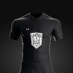2017 United FC Black Rec Kit