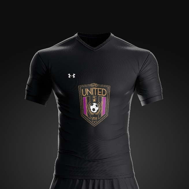 2017 United FC Black Kit