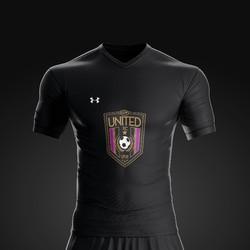 2017 United FC Black Kit