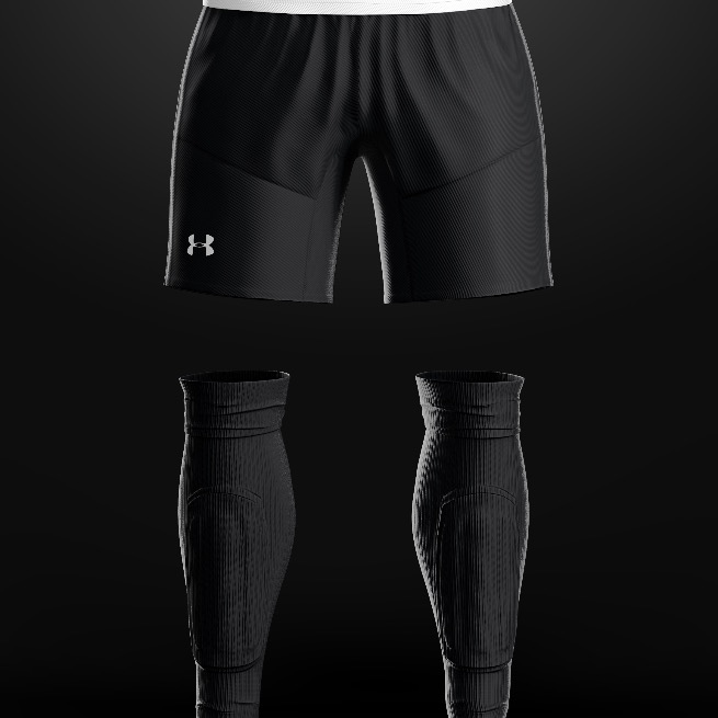 2017 United FC Black Shorts/ Socks