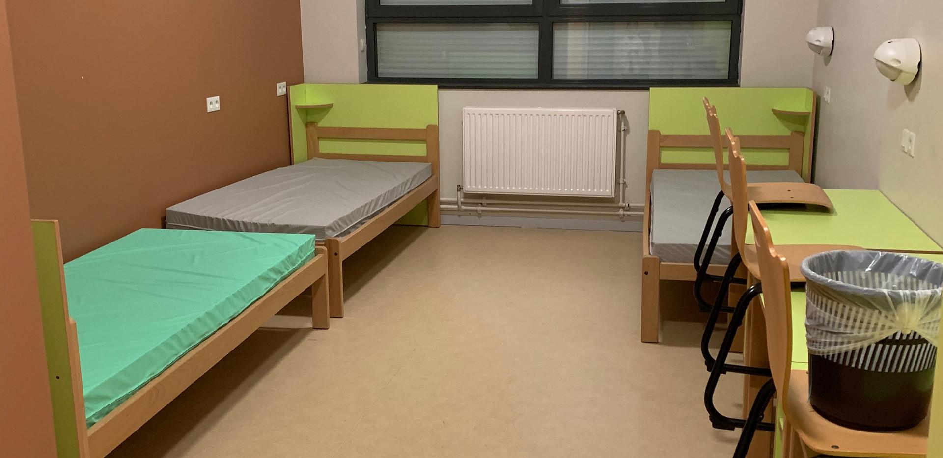 Chambre type internat 3-4