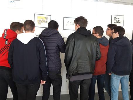 Vernissage de l'exposition des 2SN