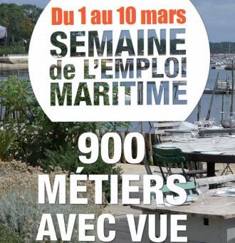 1au 10 mars : semaine nationale de l'emploi maritime