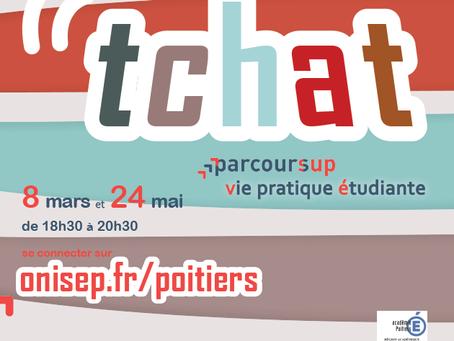 """Tchats académique """"Parcoursup"""""""