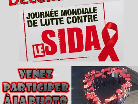Le lycée participe à la journée d'action contre le sida le 1er décembre