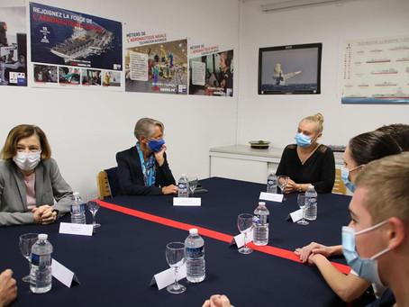 Le partenariat Marine Nationale - lycée de Rompsay à l'honneur