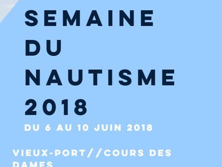 Semaine du nautisme 6 au 10 juin 2018
