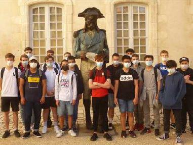 Retour des élèves dans les musées de La Rochelle