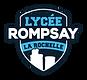 LYCEE ROMPSAY - Logo vectoriel (fond tra