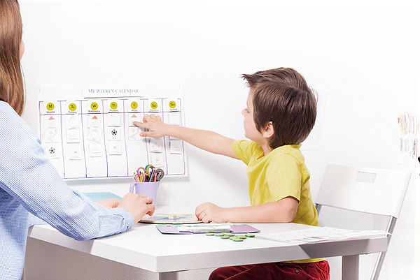 Behavior charts and organizing tools for children with ADHD, anxiety, behavior problems