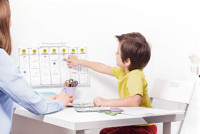 Barn på Psykolog