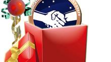 Entrega regalos de navidad
