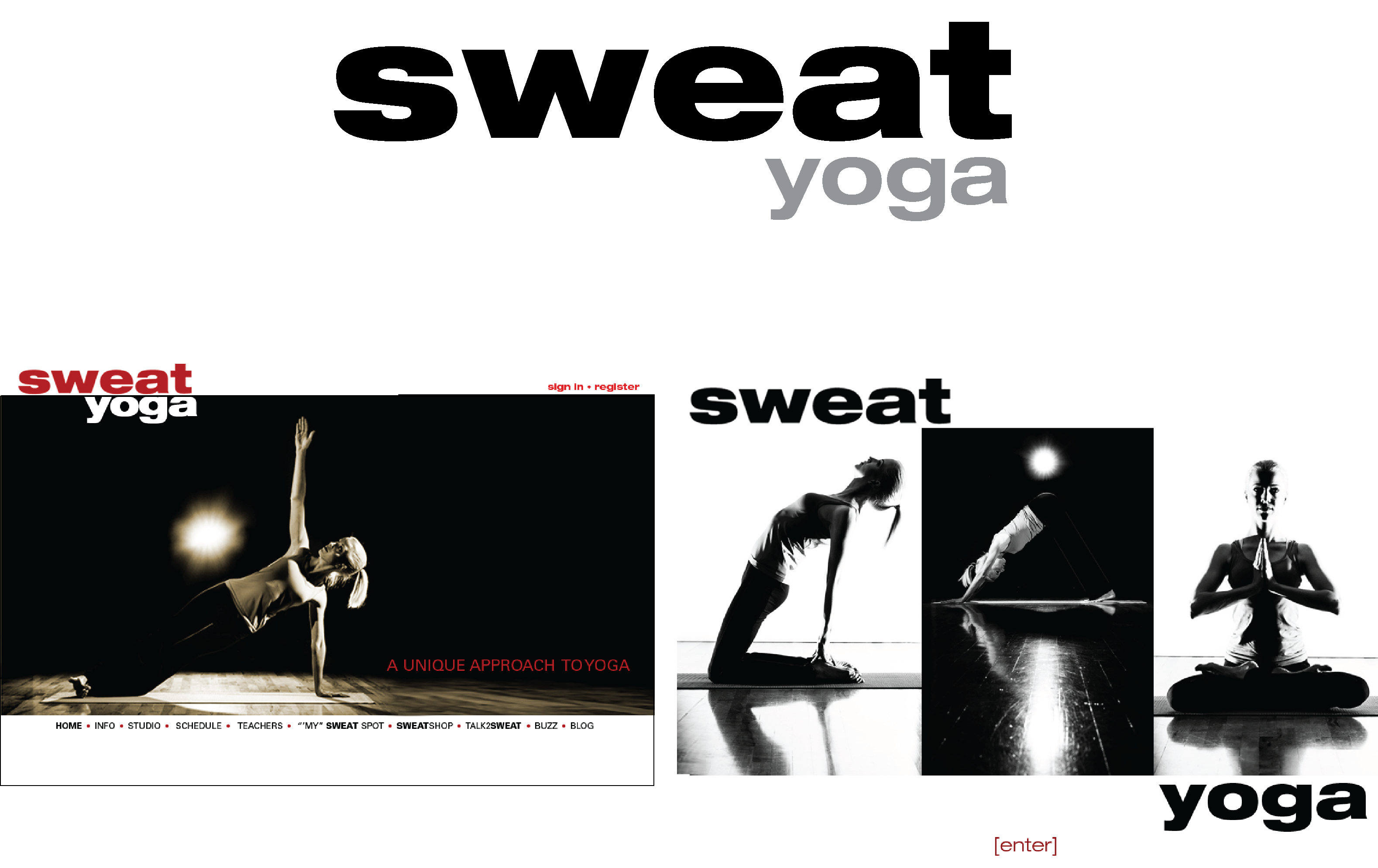 Sweat Yoga