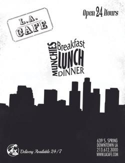 LA Cafe - Downtown LA