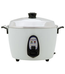 TATUNG 6/10 Cup White Cooker/Steamer TAC-10G(SF)