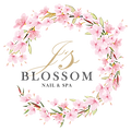 Js Blossom Nail and Spa Logo Design 05-2