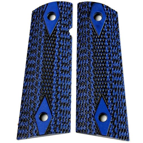 Blue Black Double Diamonds