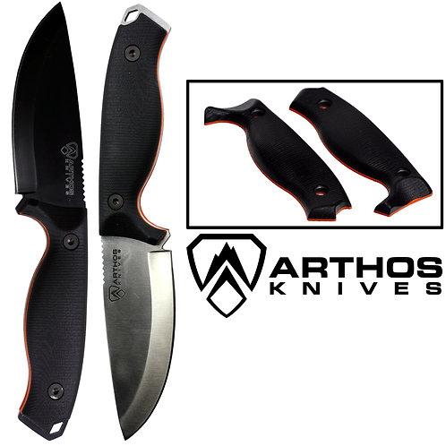 Mil Spec Camo A44 Knife