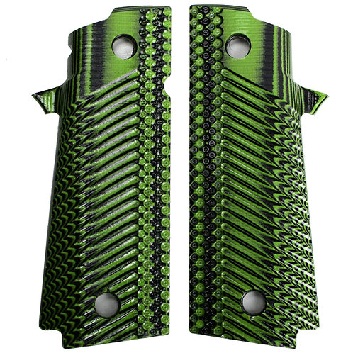 Neon Green Black Double Stack