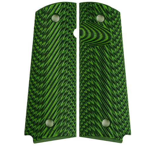 Neon Green Cross Hatch